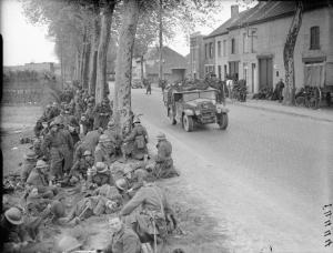 The British Army in Belgium -1940